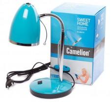 Настольная лампа Camelion KD-308 голубая