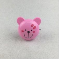 Ночник Camelion NL-189 Мишка розовый