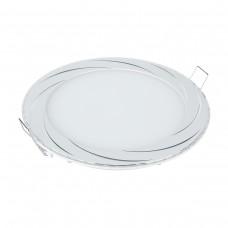 Встраиваемый светильник DLR004 12W 4200K WH белый