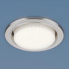 Точечный светильник 1036 GX53 WH/SL белый/серебро