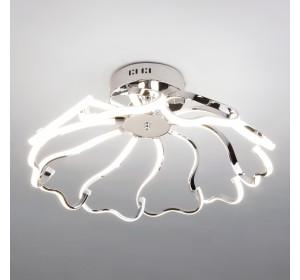 Потолочный светильник Евросвет 90095/10 хром